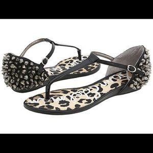 Sam Edelman Exie Studded Sandals - size 8